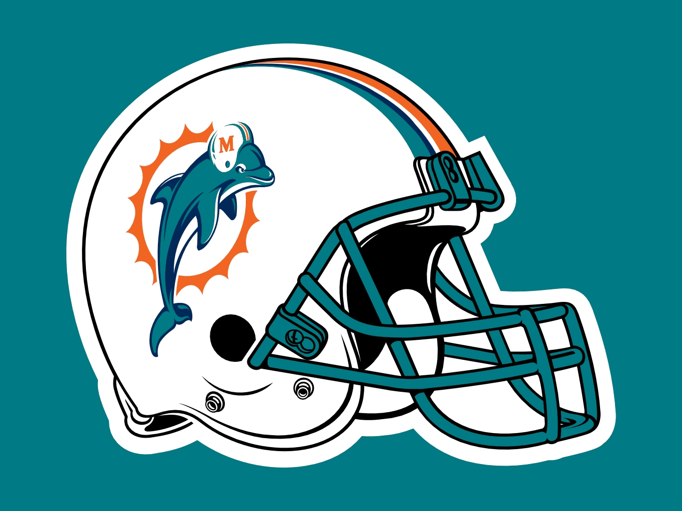 miami dolphins helmet wallpaper wallpapersafari