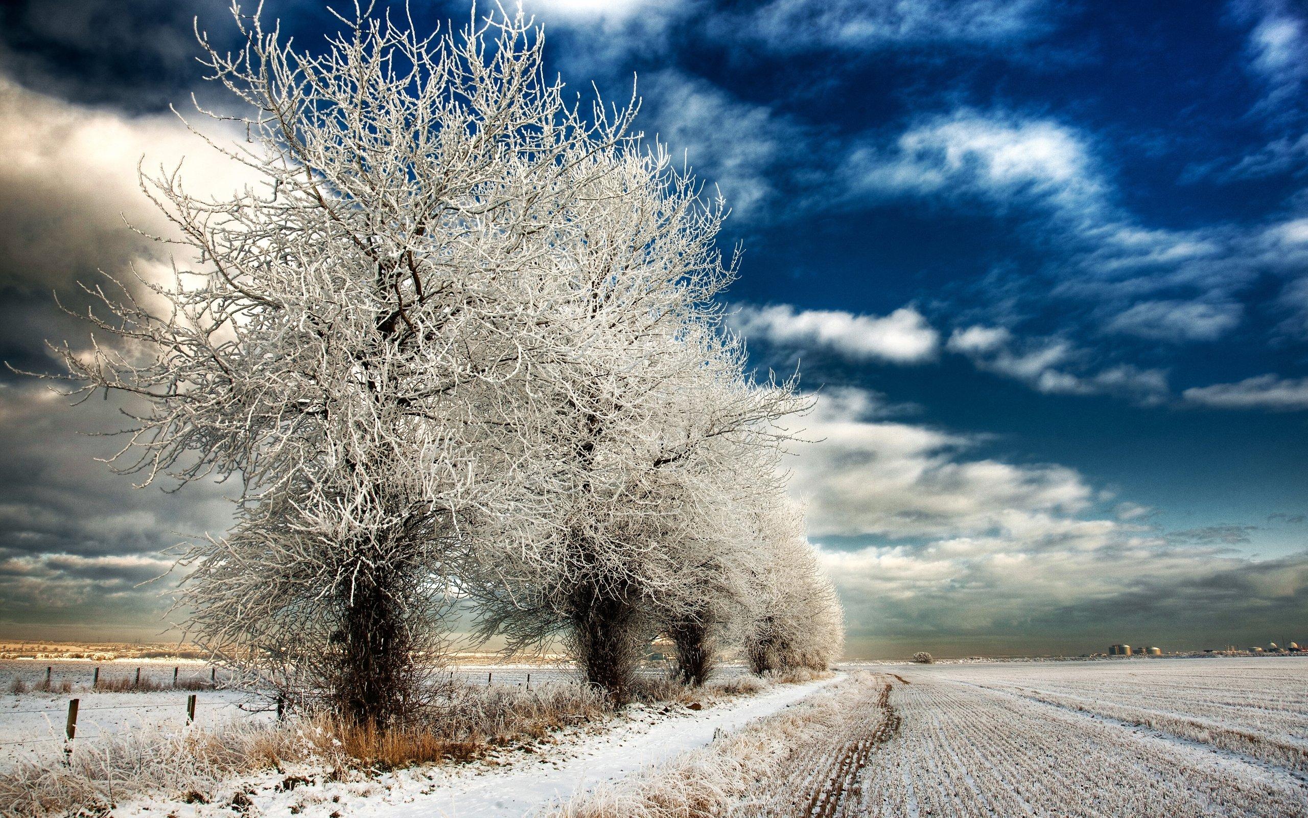 Winter landscape wallpaper for desktop wallpapersafari - Wallpaper hd nature winter ...