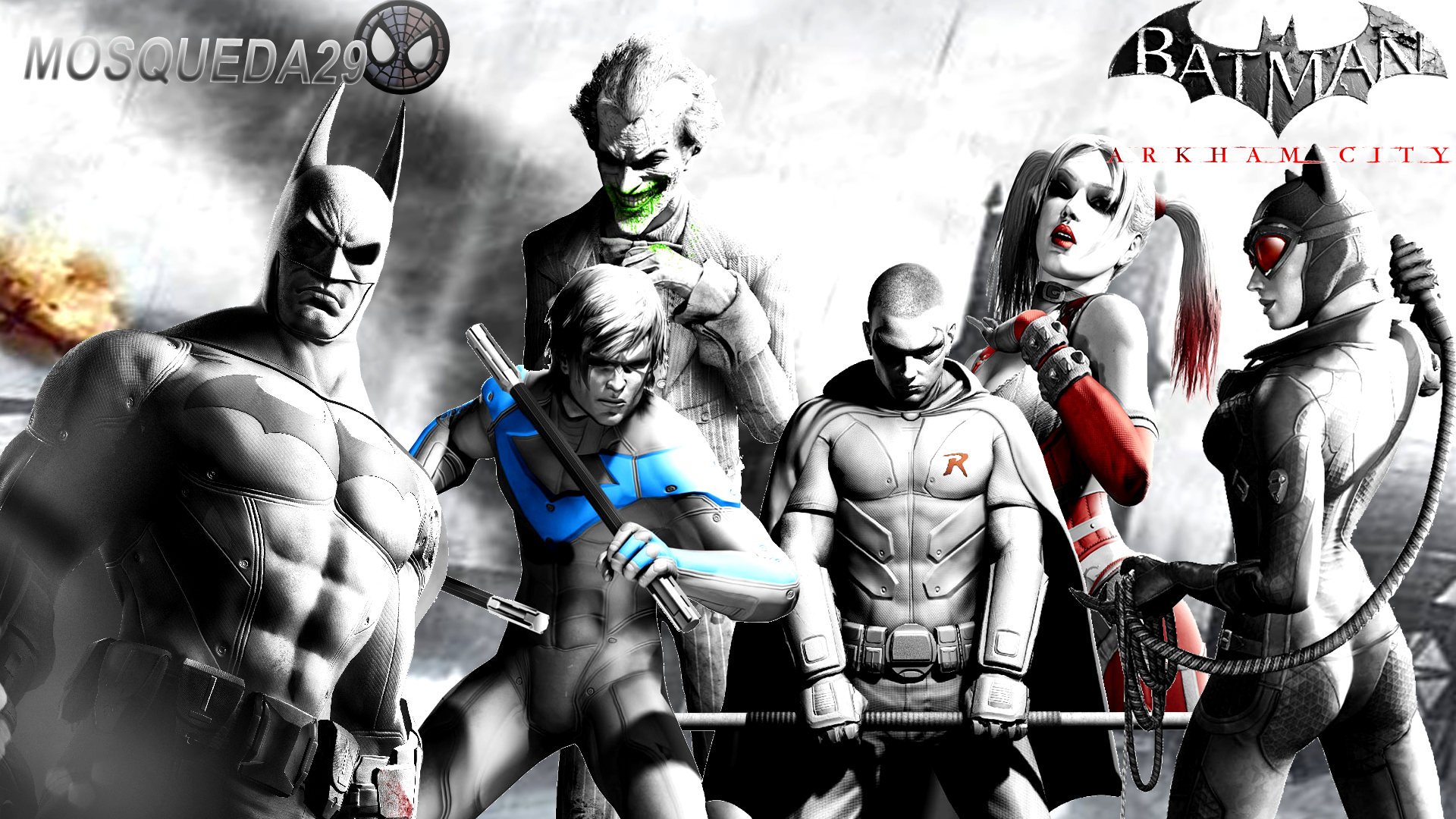 Batman Arkham City Wallpaper by Mosqueda29 1920x1080