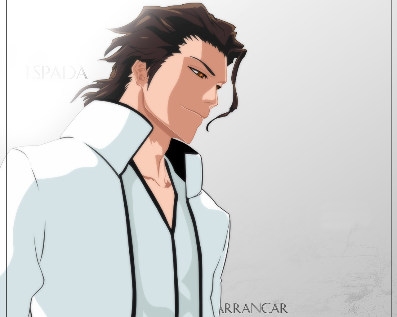 Download wallpaper 1280x1024 bleach aizen sousuke man brunette 1280x1024