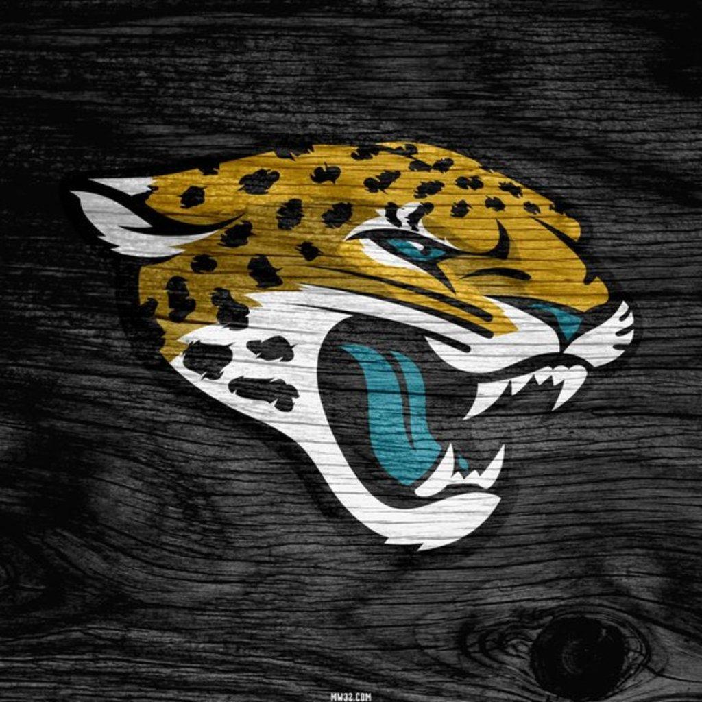Jacksonville Jaguars Grey Weathered Wood Wallpaper for Apple iPad 1024x1024