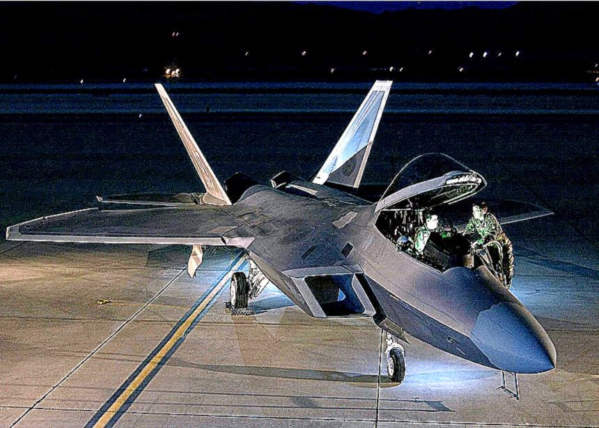 Aircraft F 22 Raptors Wallpaper Hd Background Wallpaper Gallery 860x614