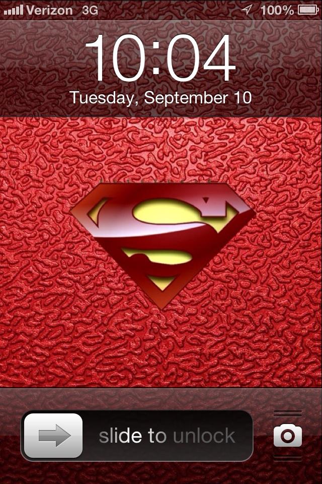 Superman iPhone Wallpaper by icu8124me on deviantART 640x960
