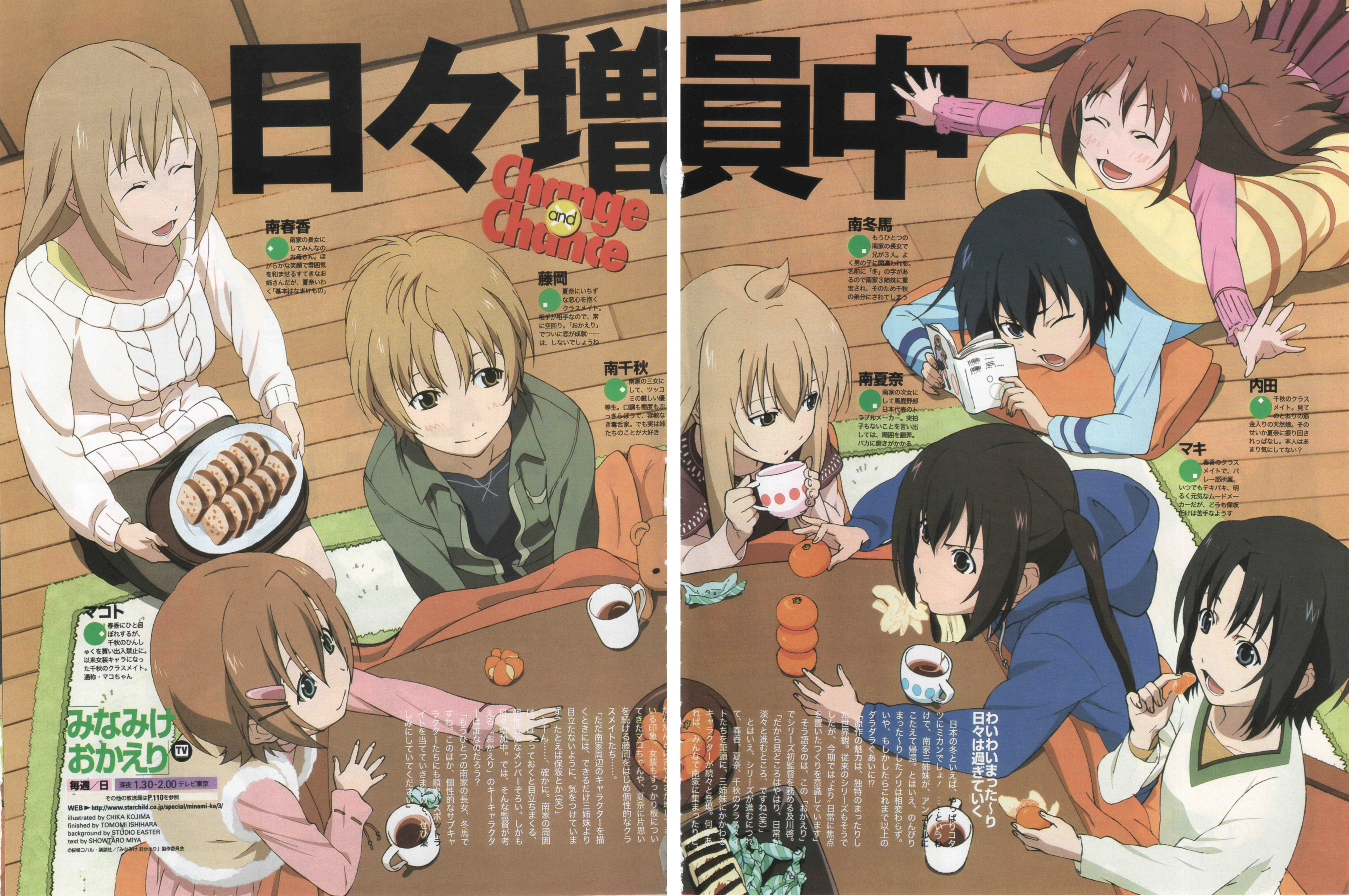 Minami ke Wallpapers and Background Images   stmednet 7029x4670