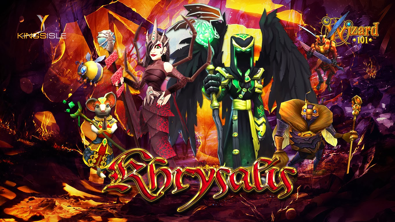 wizard101 life wallpaper the