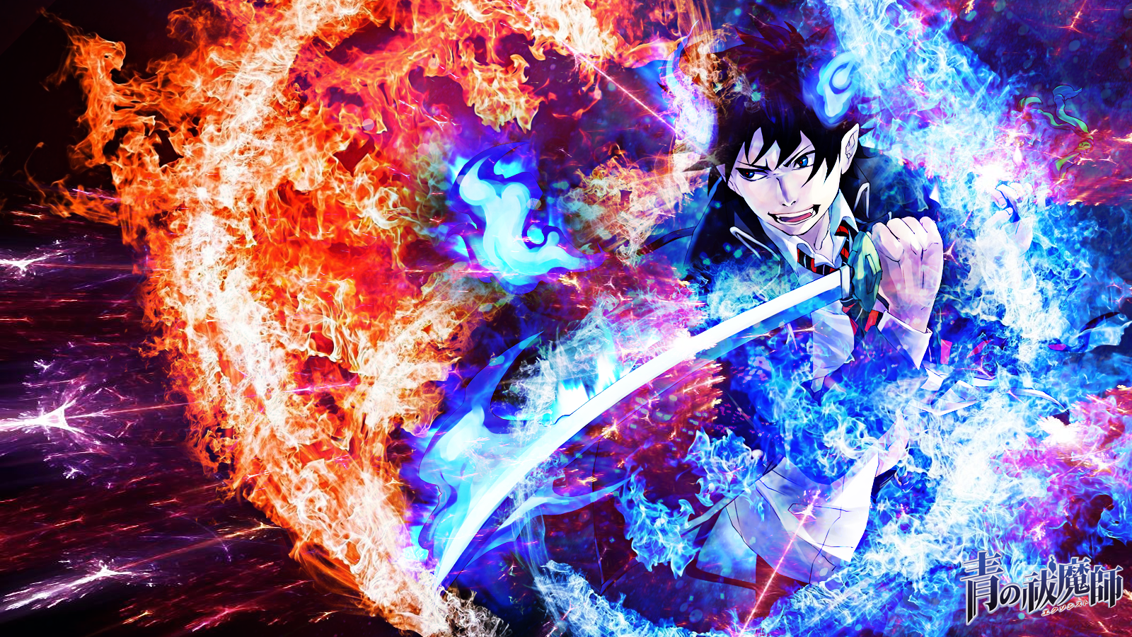 Blue Exorcist Wallpaper by skeptec 1600x900