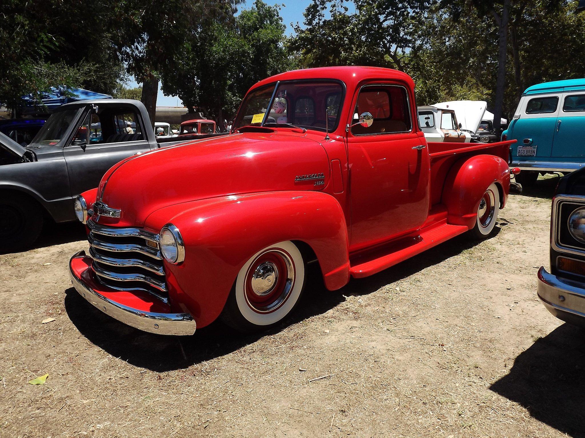 Chevrolet chevy old classic custom cars truck Pickup wallpaper 2048x1536