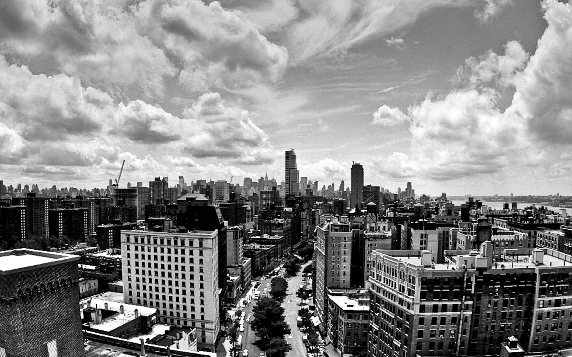black and white city wallpaper Collection 63 1920x1200
