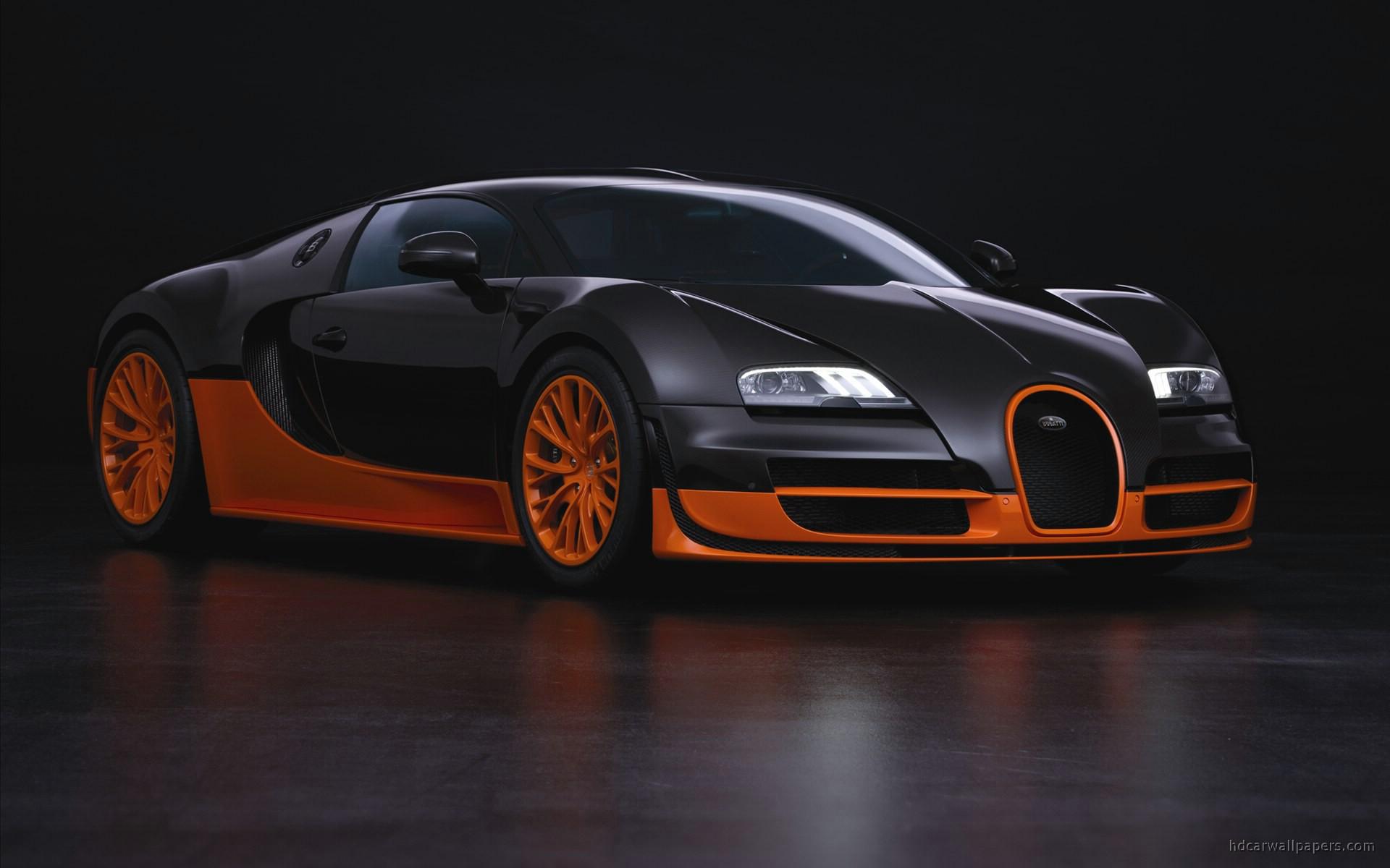 Bugatti Veyron Super Sports Car Wallpaper | HD Car Wallpapers