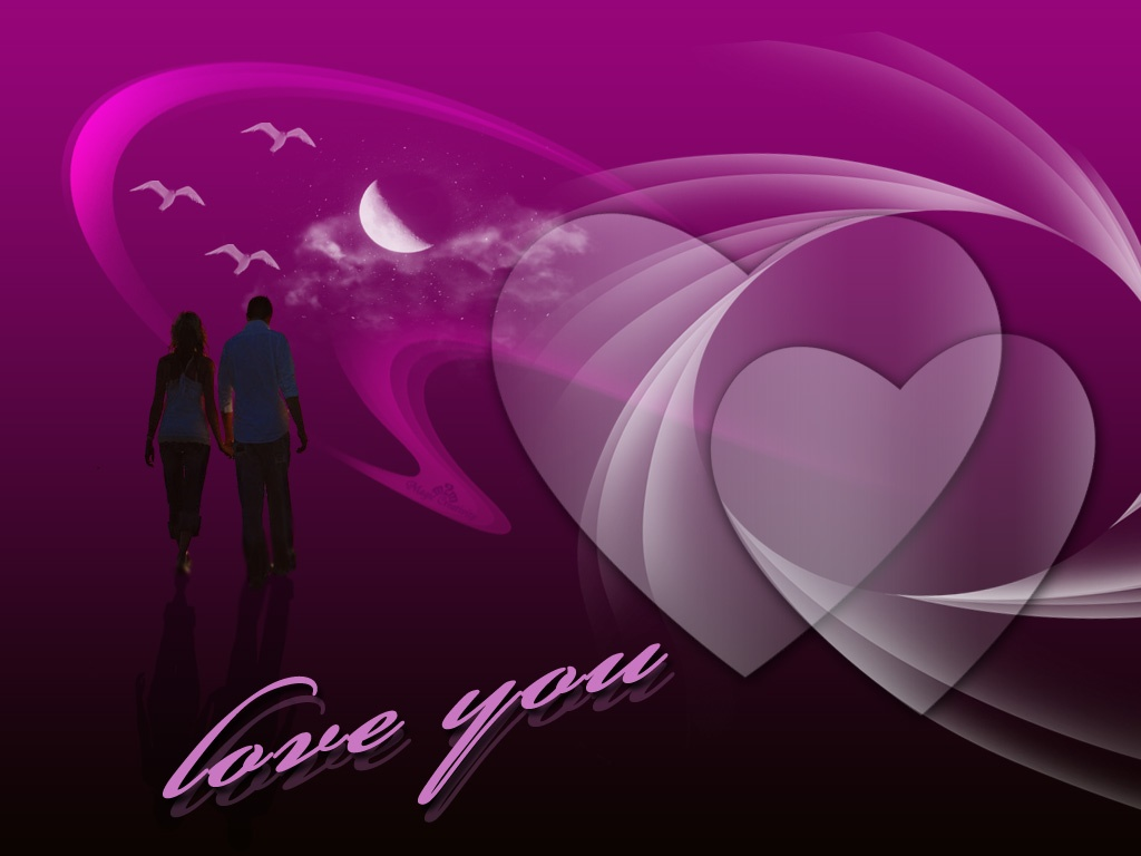 Download Romantic Love Wallpapers Cartoon Couple Love Romantic Love