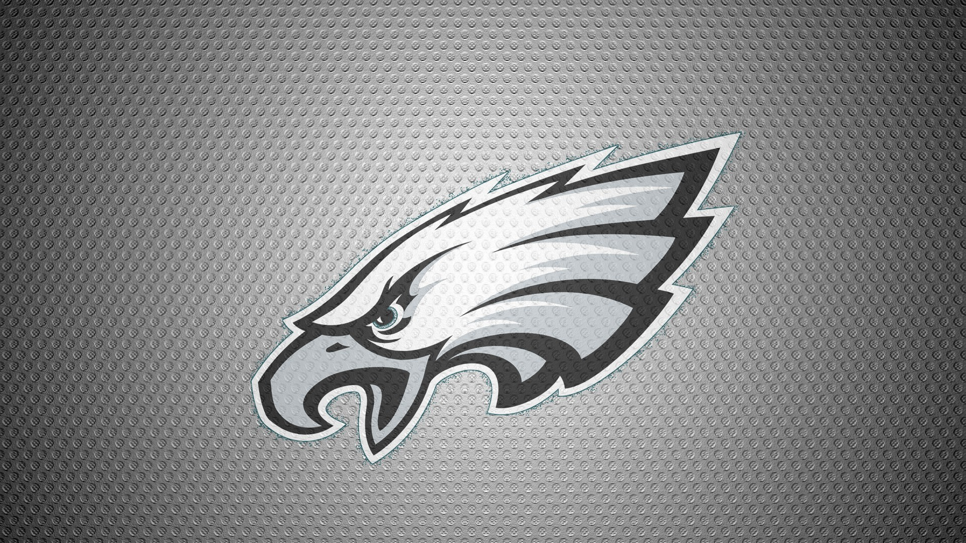 Philadelphia Eagles Logo On Carbon Aluminium Back 1920x1080 HD NFL 1920x1080