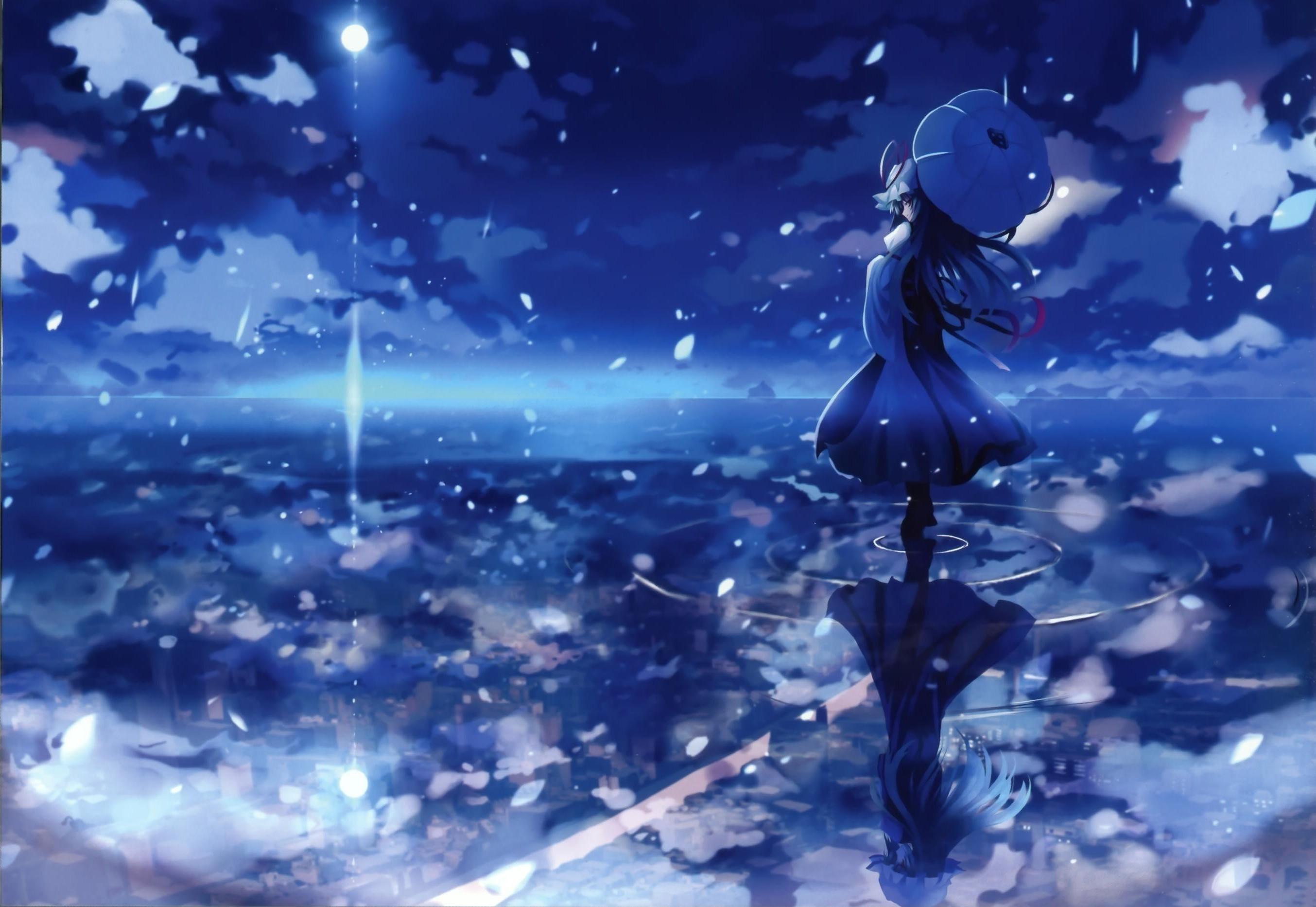 reflections anime girls wallpaper 2708x1865 12479 WallpaperUP 2708x1865