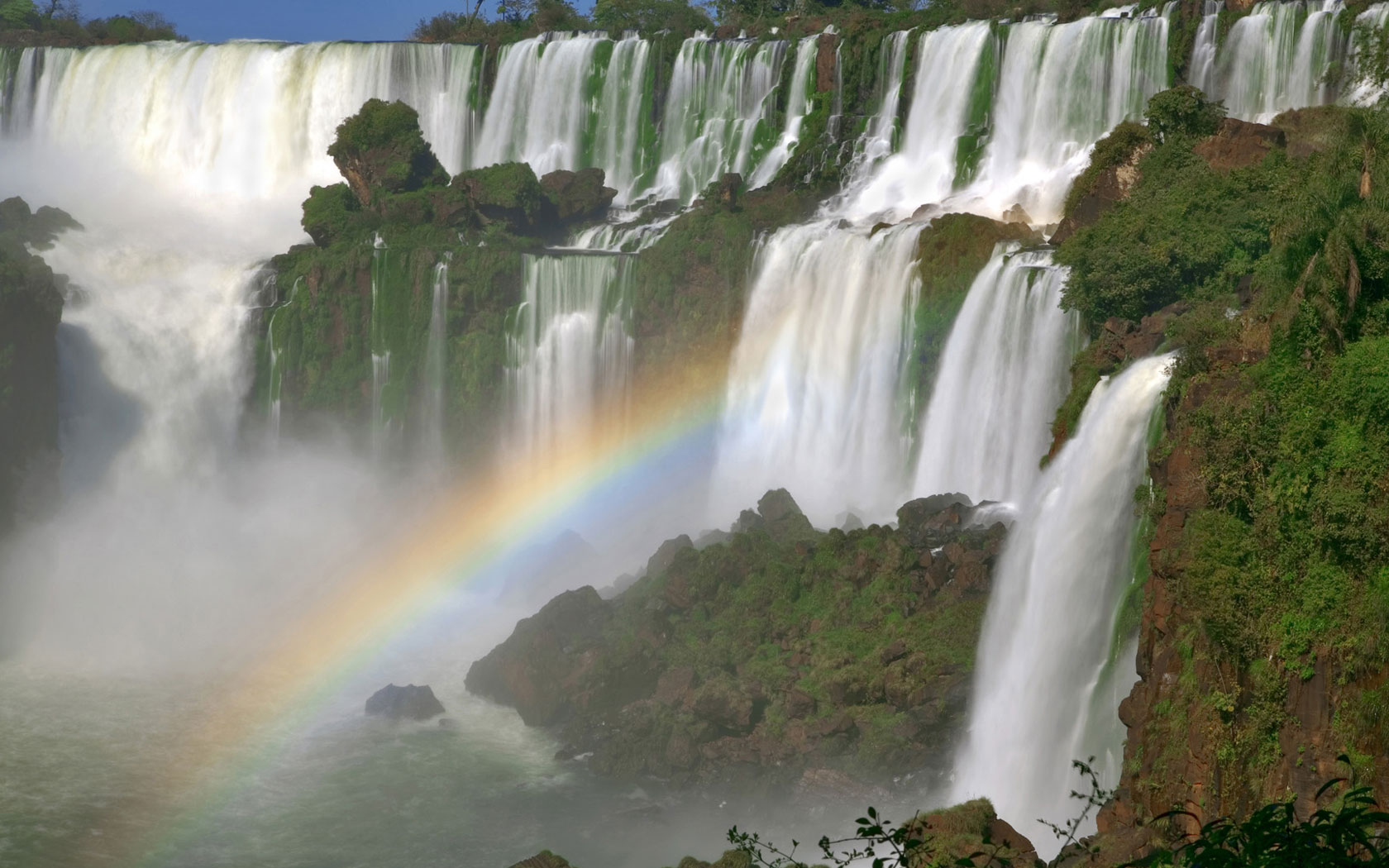 Wallpaper Scenery Waterfall