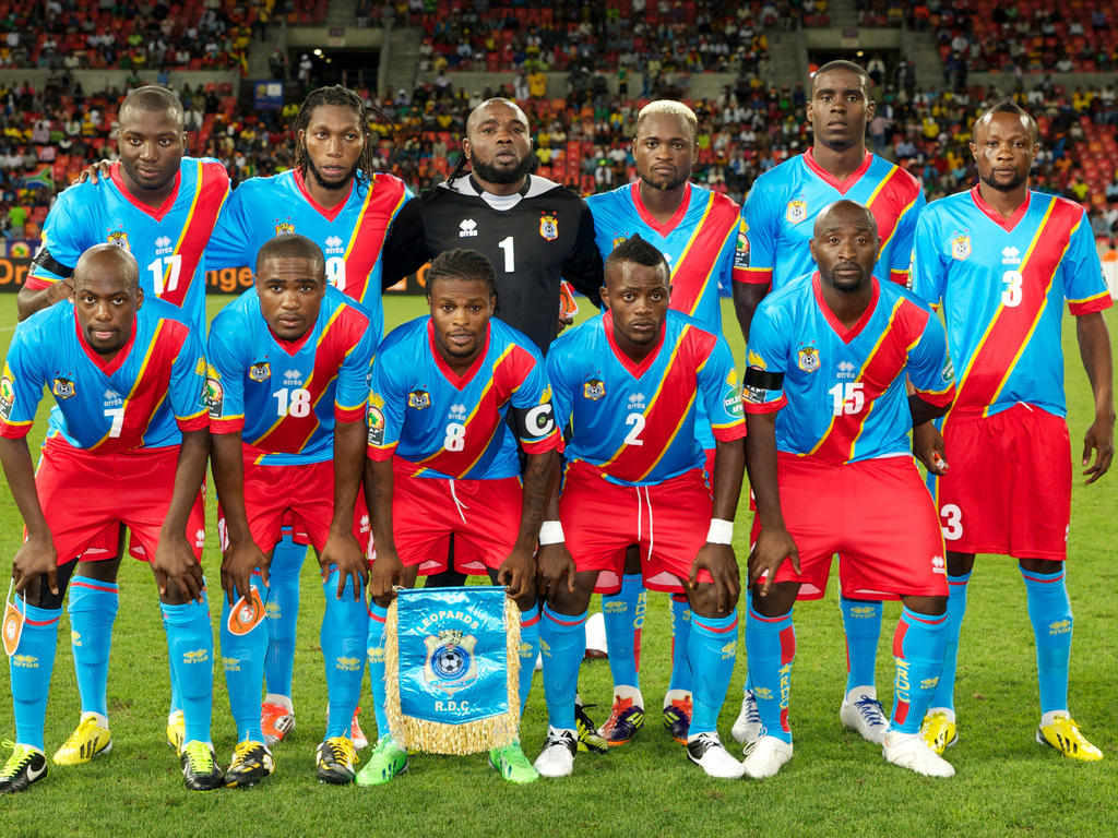 DR Congo National Football Team Teams Background