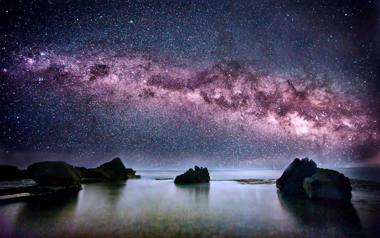 Milky Way Viewed in Australia 1229x768
