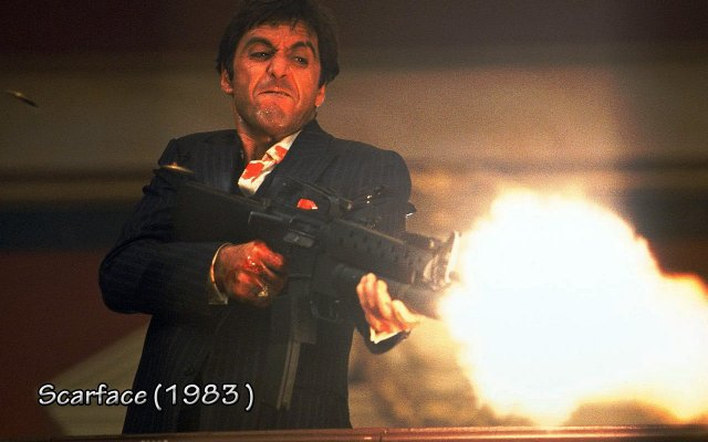 Scarface Wallpaper 640x400