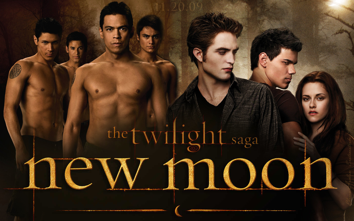 posters new moon wolves   Twilight Wolves Wallpaper 6552898 1440x900