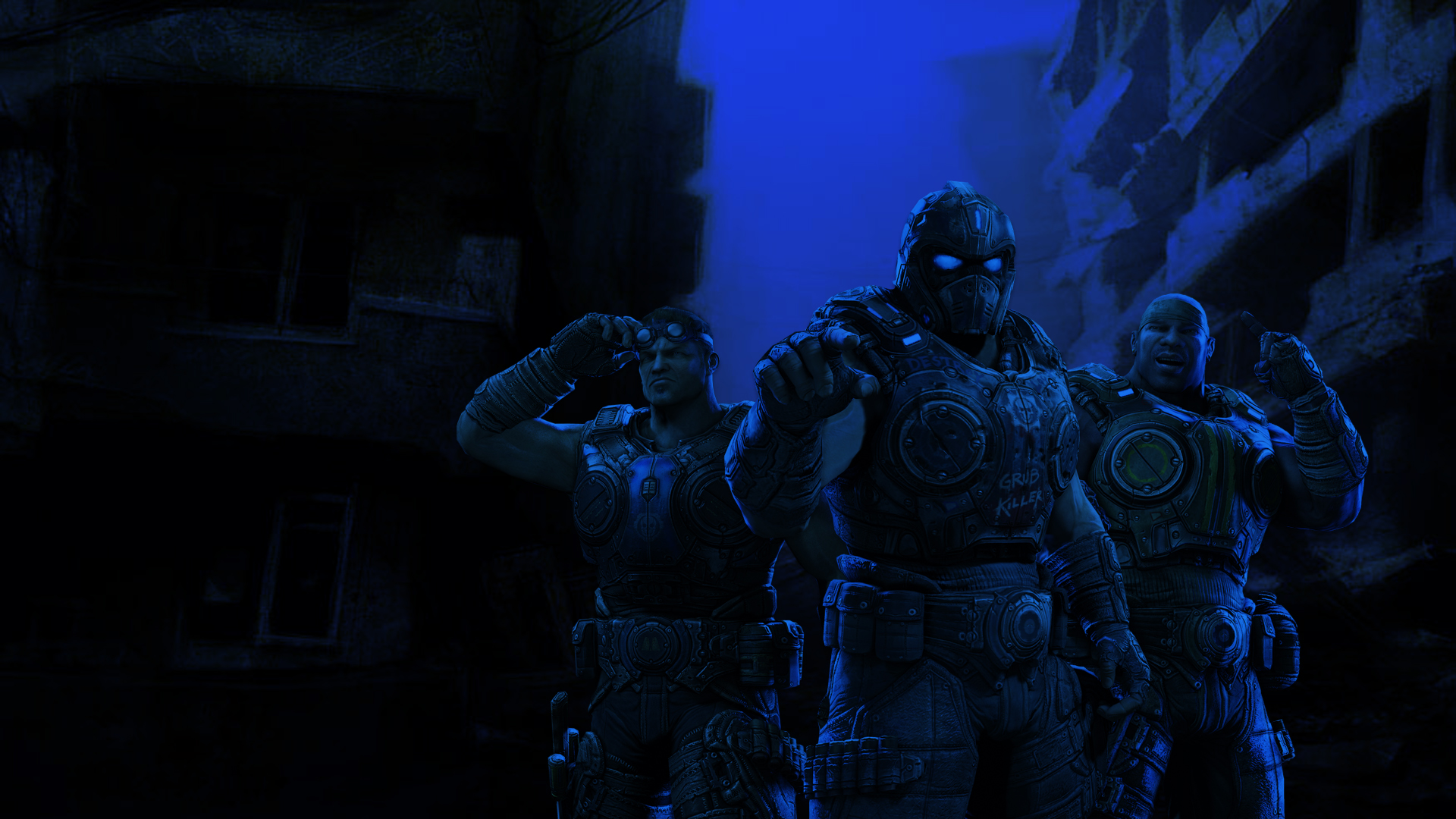 Gears Of War 3 Hd Wallpapers For Android: Gears Of War Wallpaper 1080p