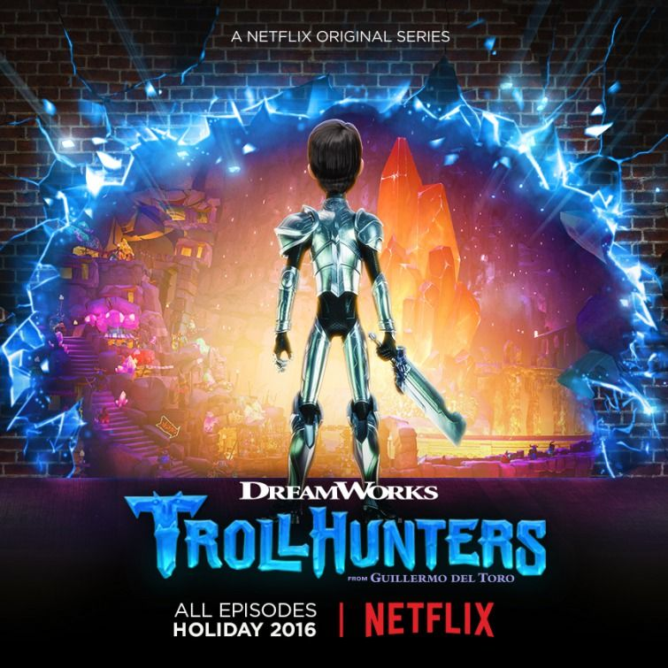 Trollhunters Netflix Animated Series Poster 2 Posters in 2019 755x755