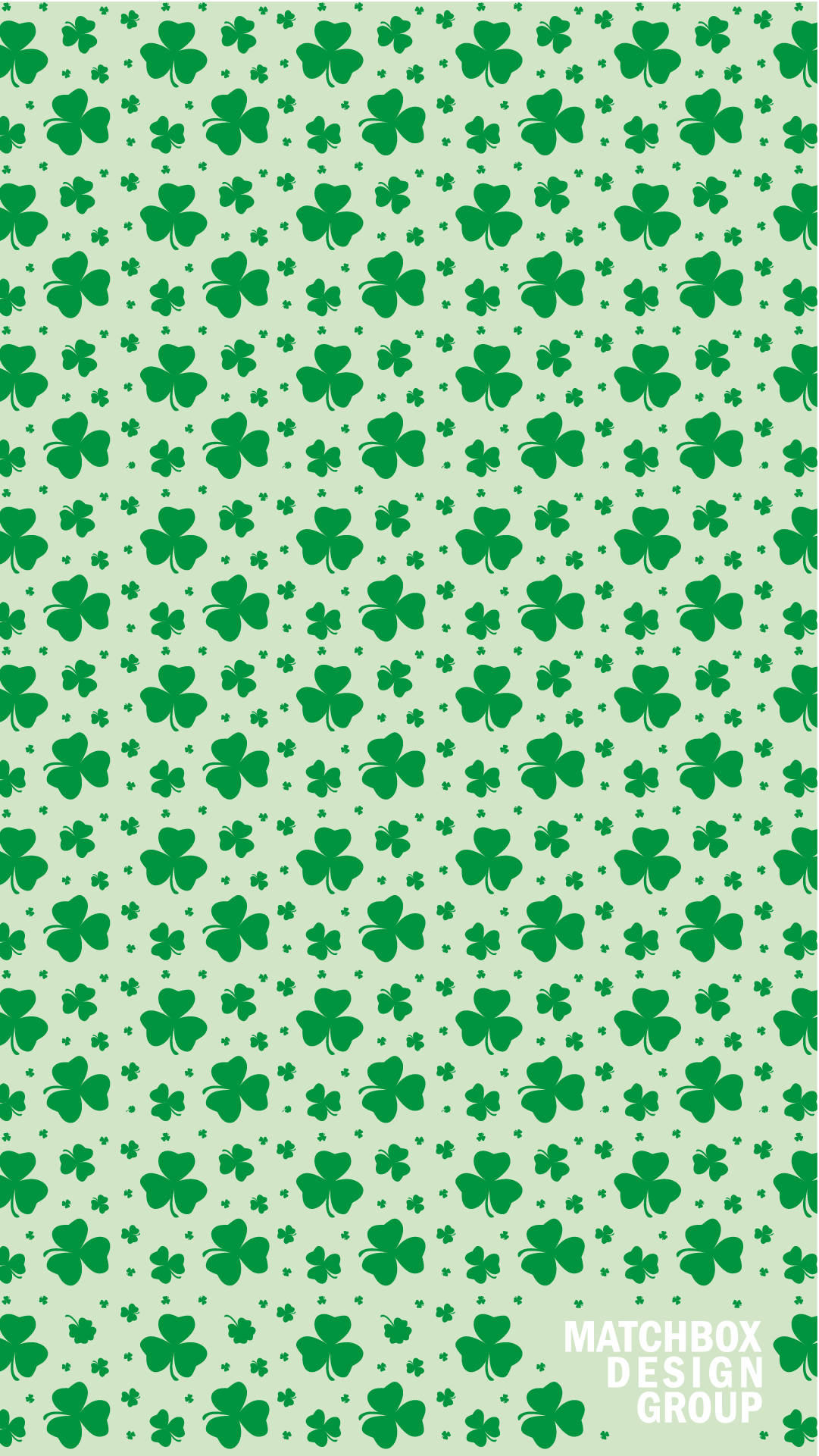 St Patricks Day Wallpaper Matchbox Design Group St Louis MO 1081x1921
