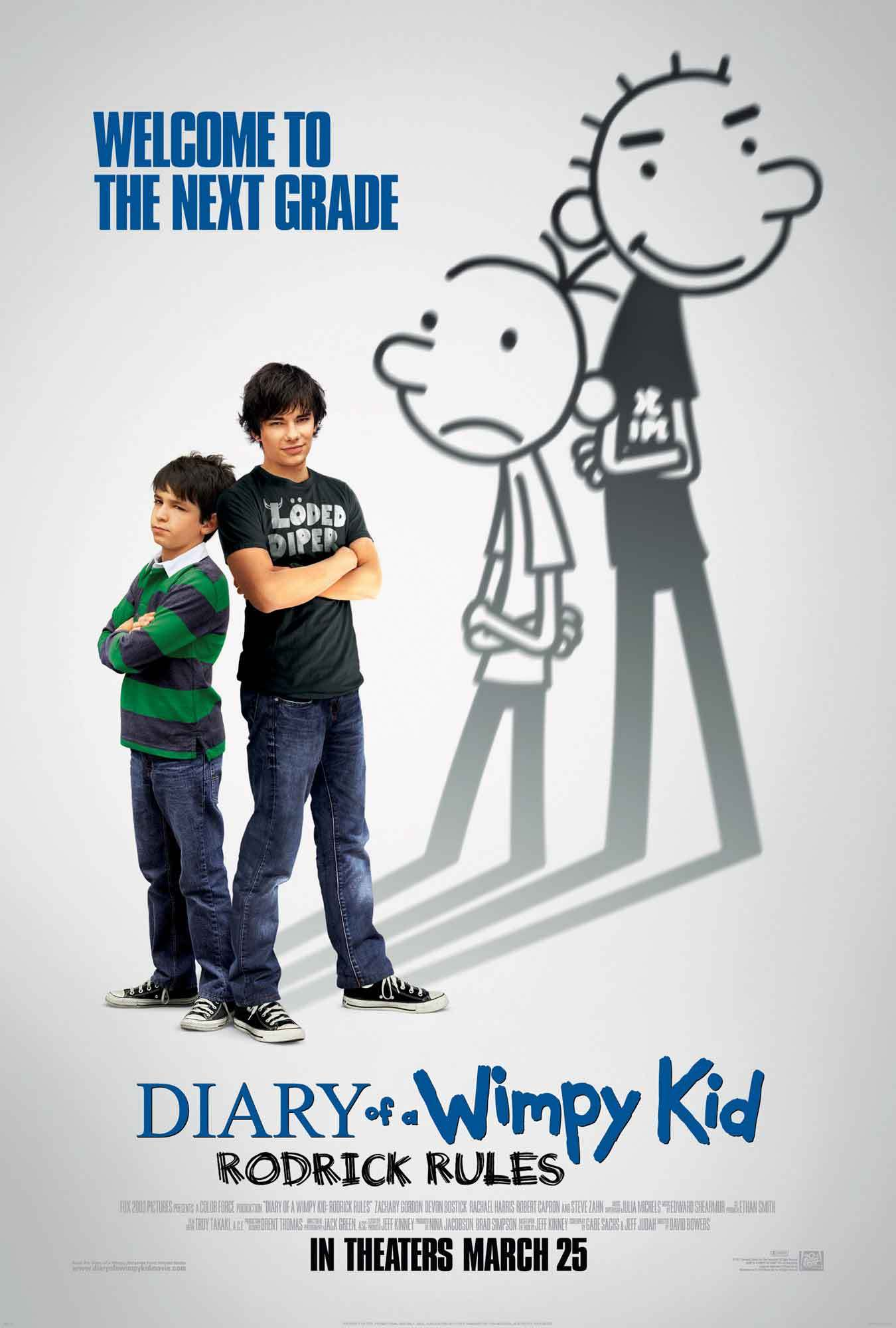 Diary of a Wimpy Kid Rodrick Rules 2011   IMDb 1350x2000