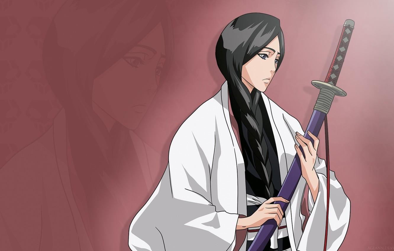 Wallpaper girl sword game Bleach woman anime ken brunette 1332x850