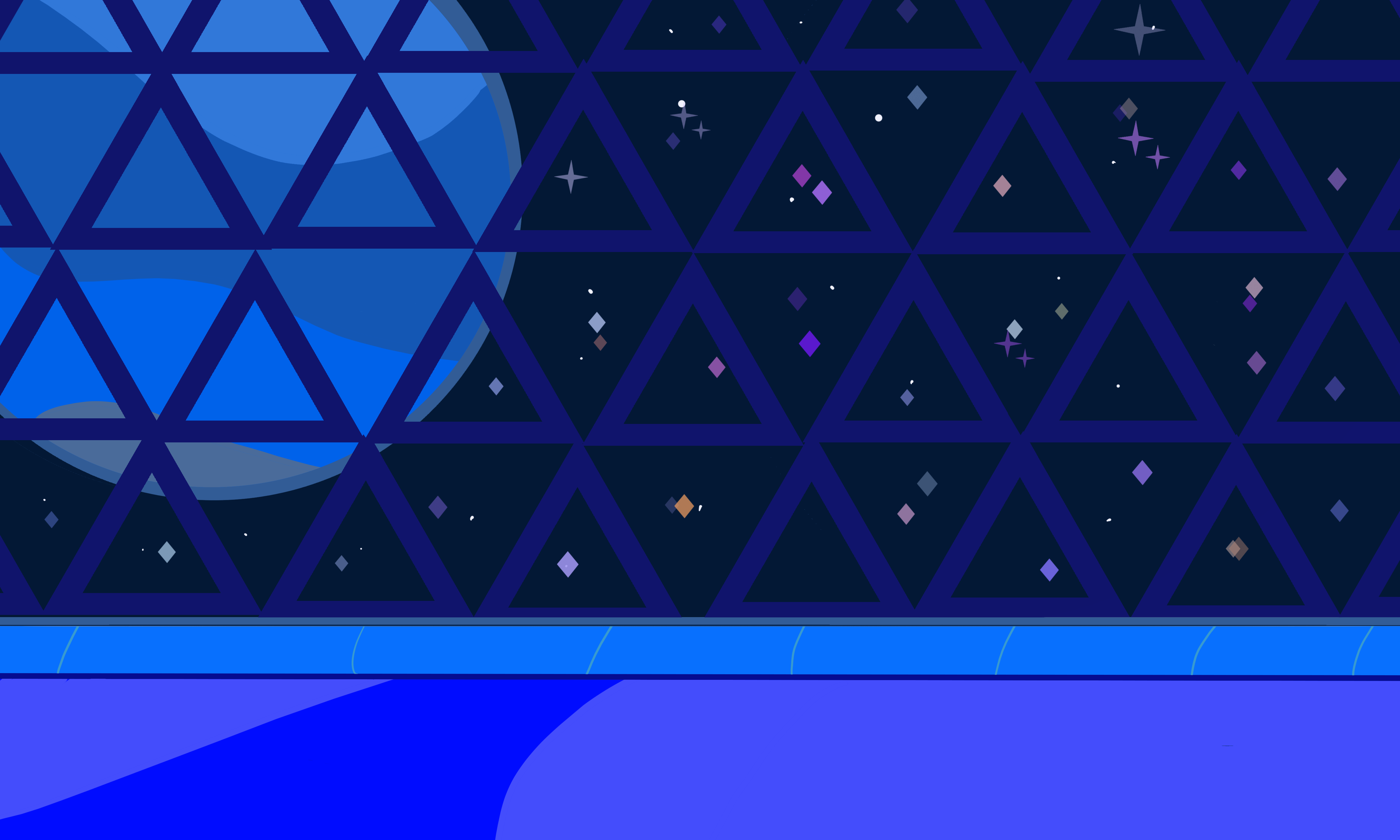 Tried drawing a SU background   thats Neptune in the background 5000x3000