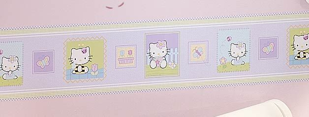 Hello Kitty and Friends Wallpaper Border   8 inch x 30   Hello Kitty 628x238