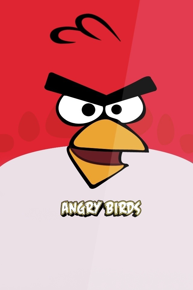 Angry Birds Simply beautiful iPhone wallpapers 640x960