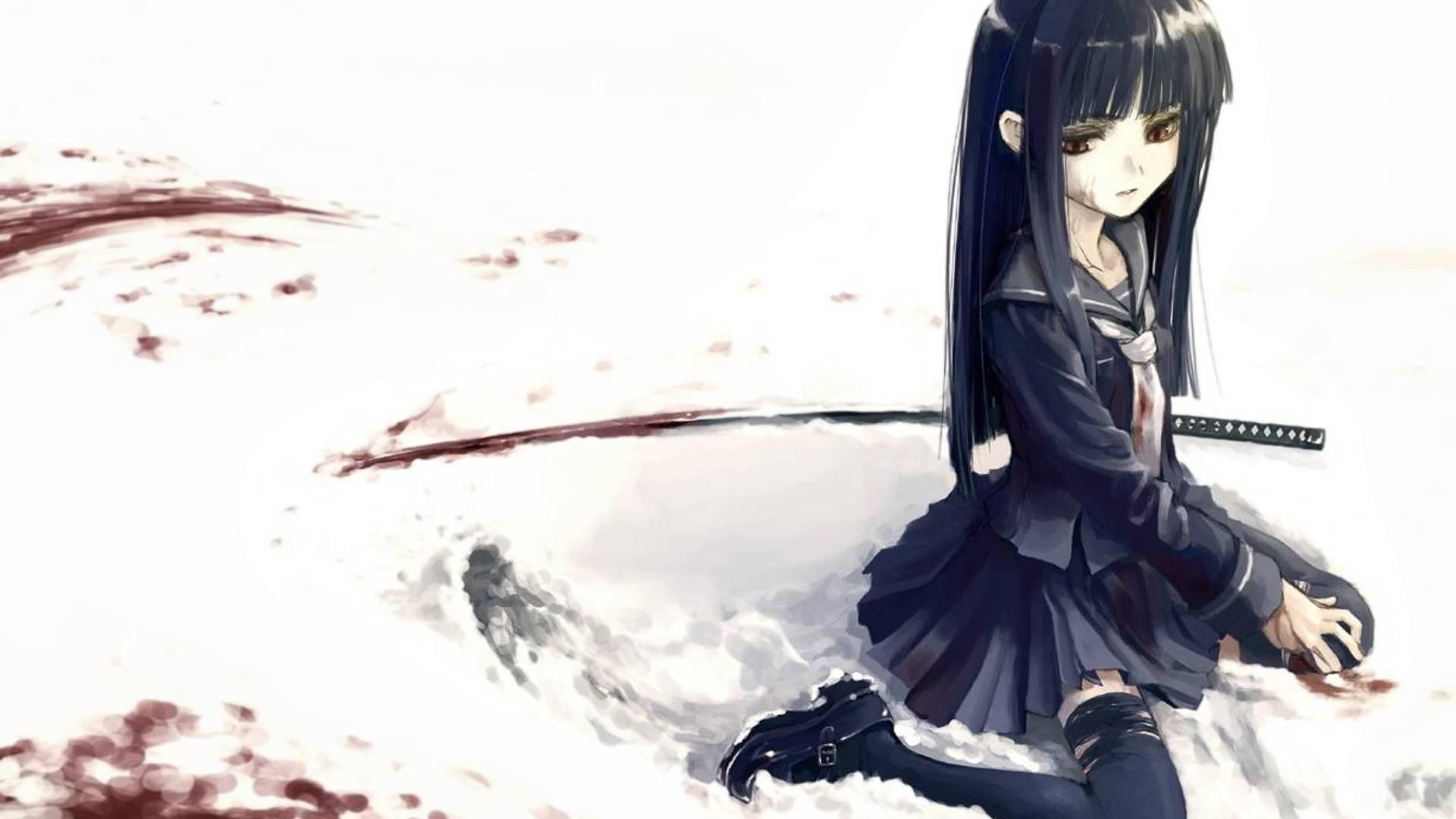 Female anime wallpaper