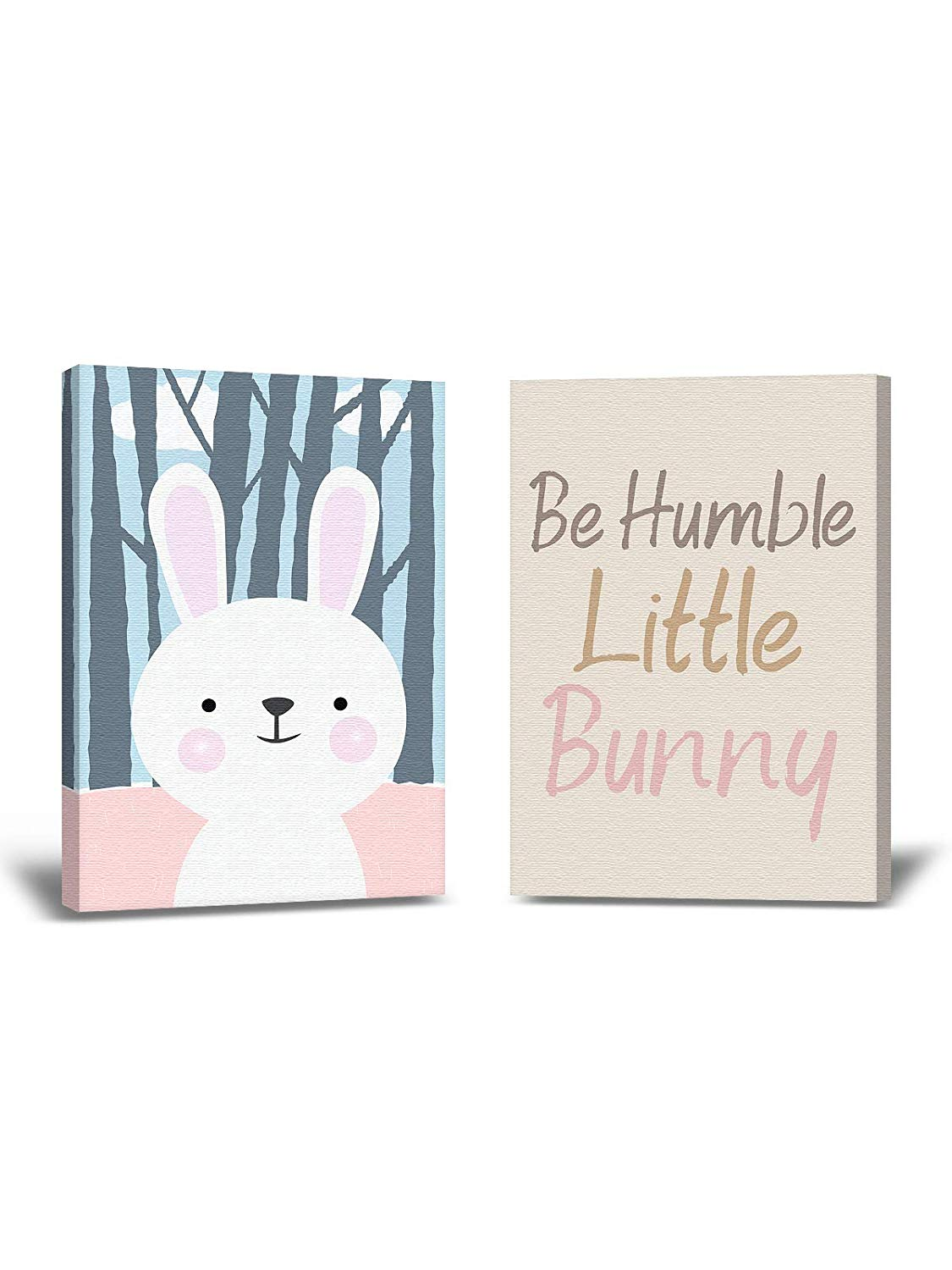 Amazoncom Be Humble Wallpaper Baby Room Art Bunny Picture Baby 1125x1500