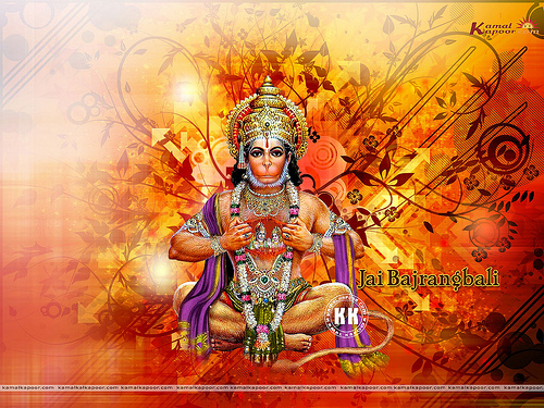 Hanuman Pics Hindu God Hanumanji Wallpapers Flickr   Photo Sharing 500x375