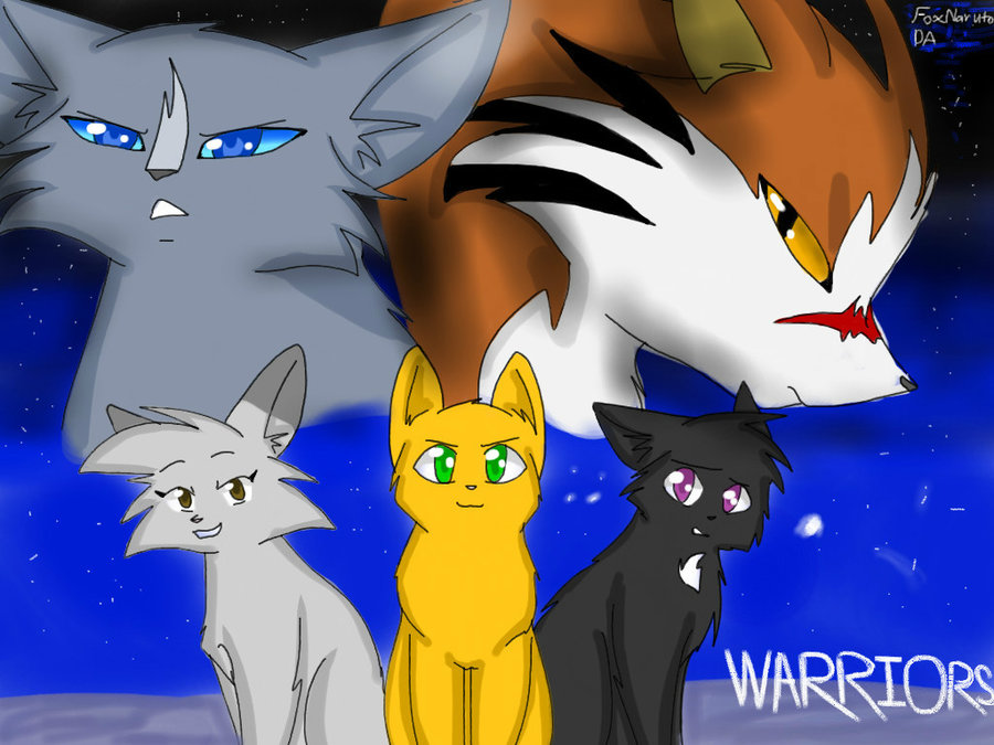 Warriors Wallpaper by Nyx W Lycan 900x675