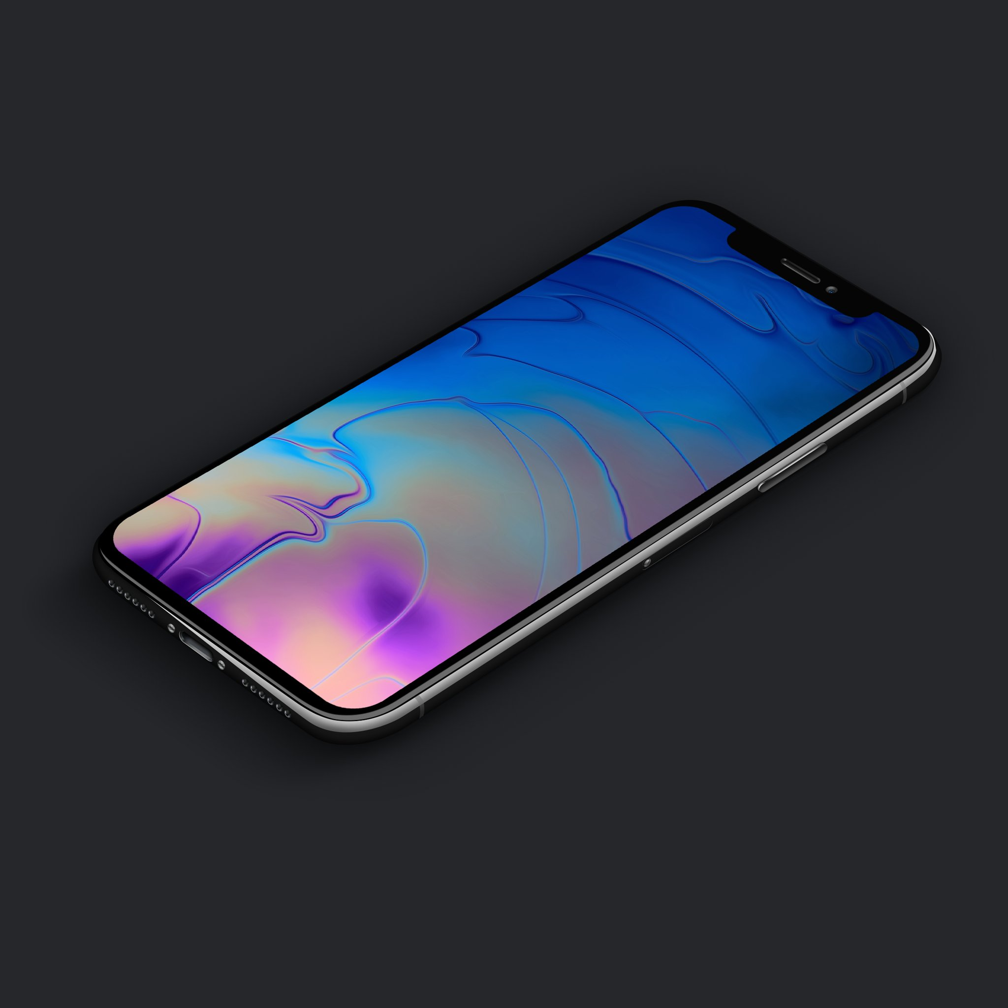 New MacBook Pro inspired wallpapers for iPhone 2048x2048