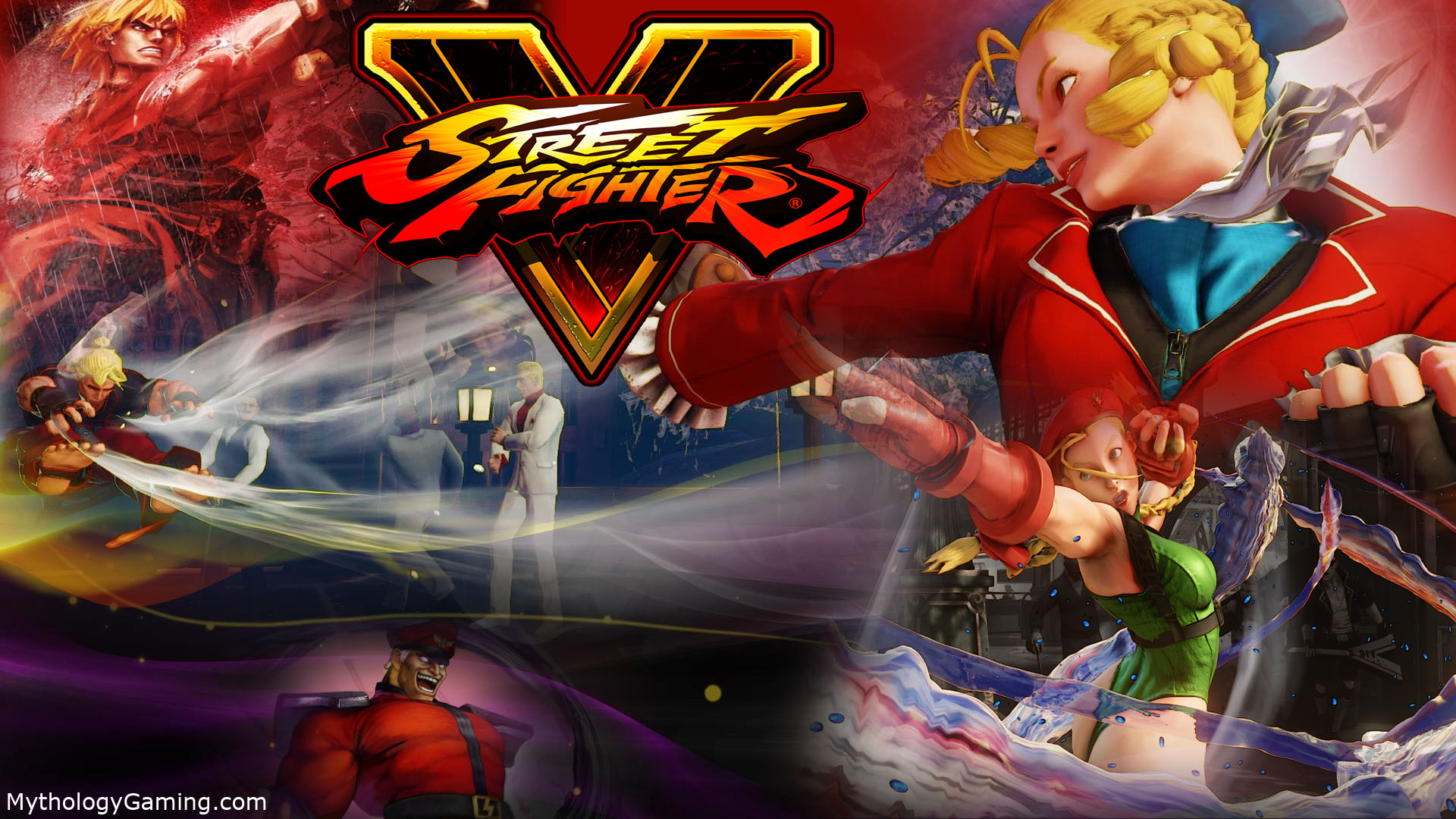Free Download New Street Fighter 5 Wallpaper Mythology Gaming
