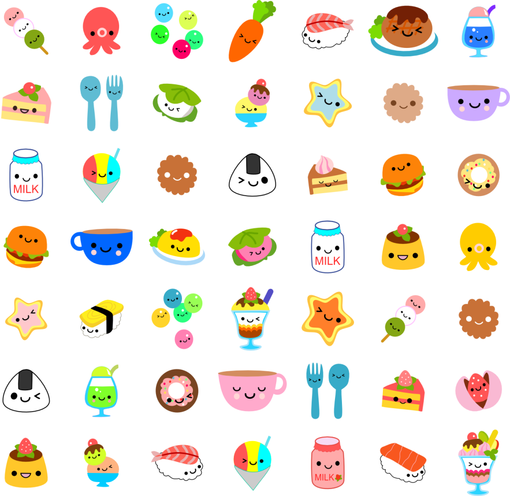 Kawaii Pictures Kawaii Food 3 1023x994