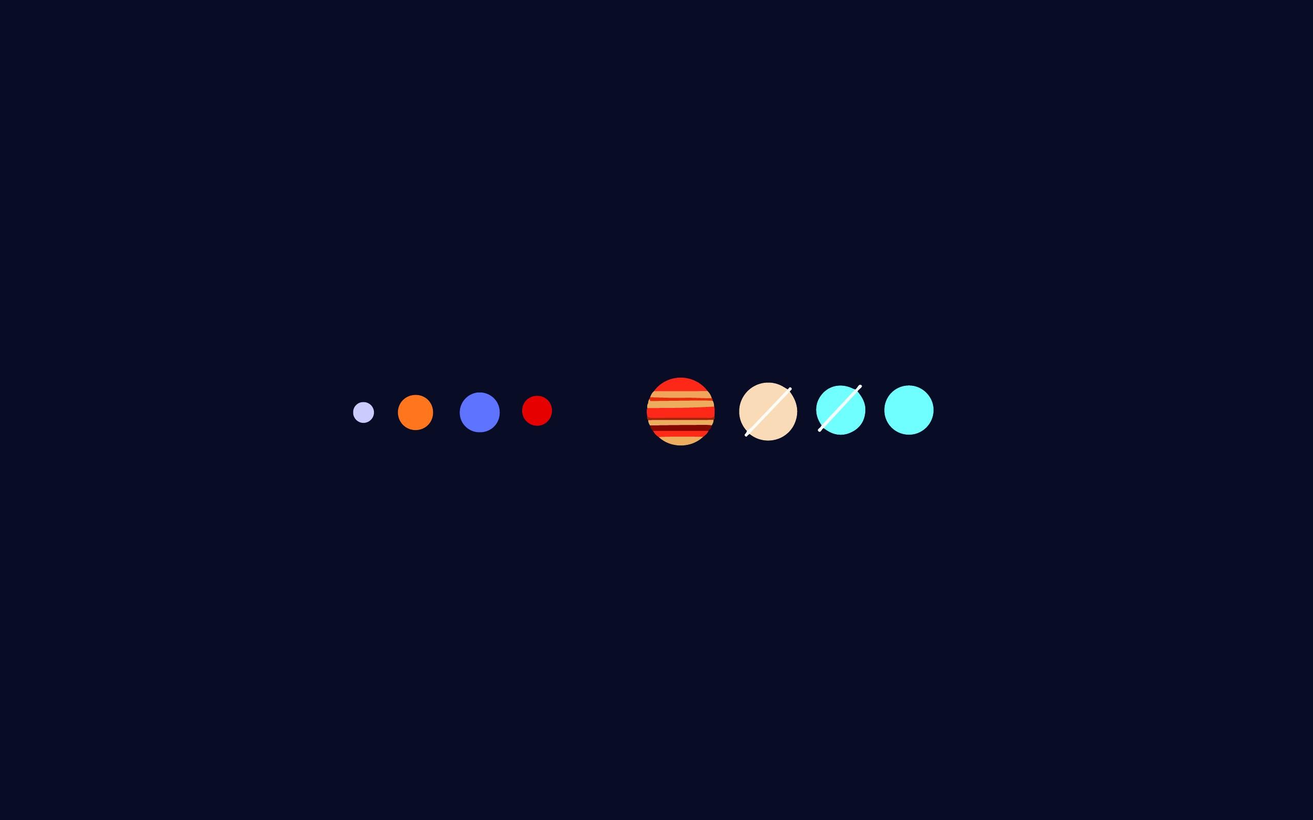 The Solar system [2560x1600] iimgurcom 2560x1600
