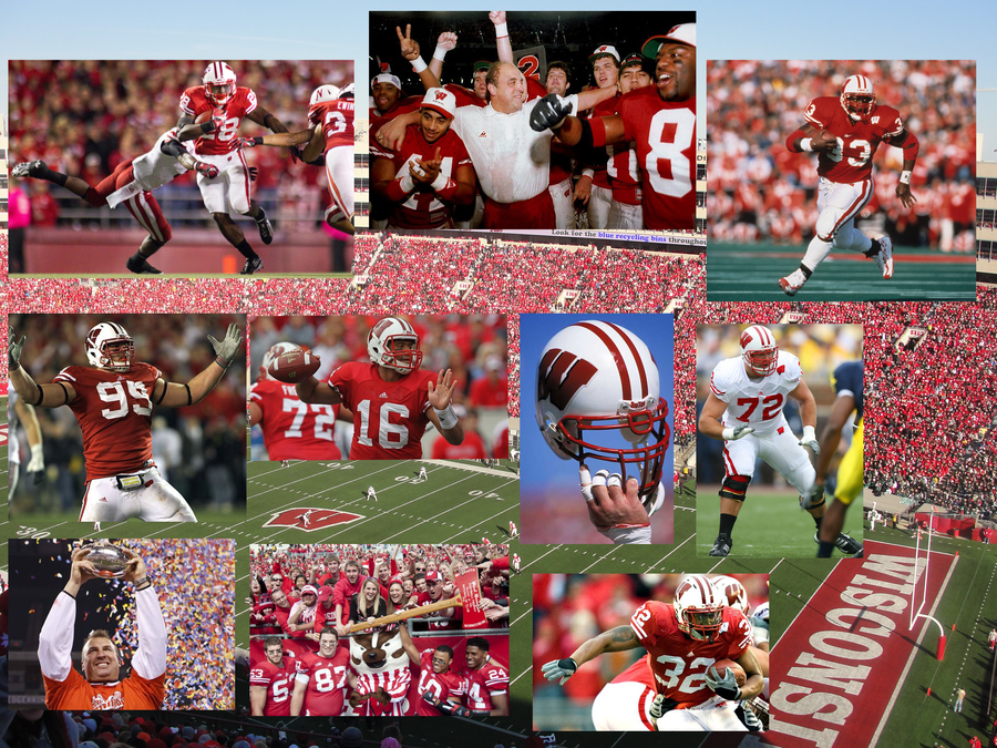 Wisconsin Football Wallpaper 2 by Otakurec37 on deviantART 900x675
