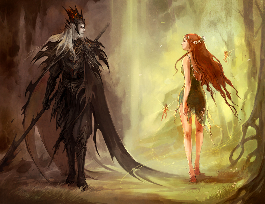 Hades and Persephone   The Olympians Fan Art 12769275 1024x791