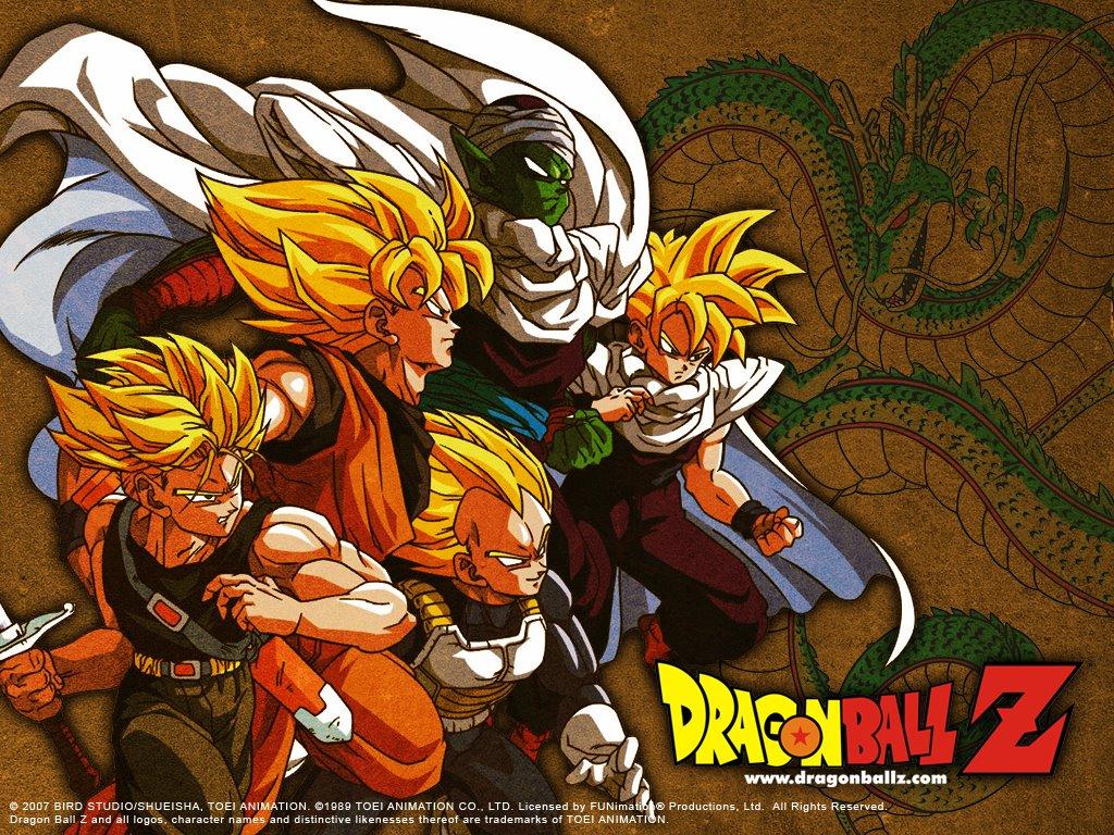 de Parede Grtis   Papel de Parede de Quadrinhos Dragon Ball Z 1024x768