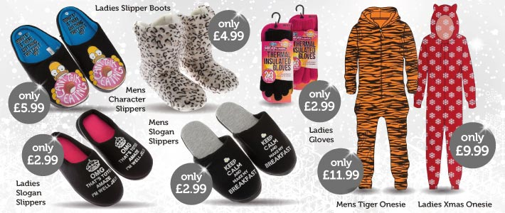 Christmas Clothing bargains from BM Stores 710x300