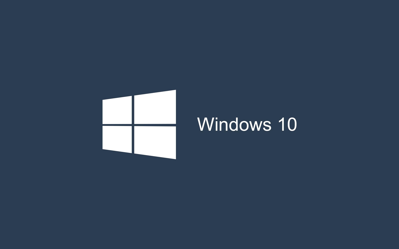 Dark Blue Windows 10 Wallpaper HD 28801800 2880x1800