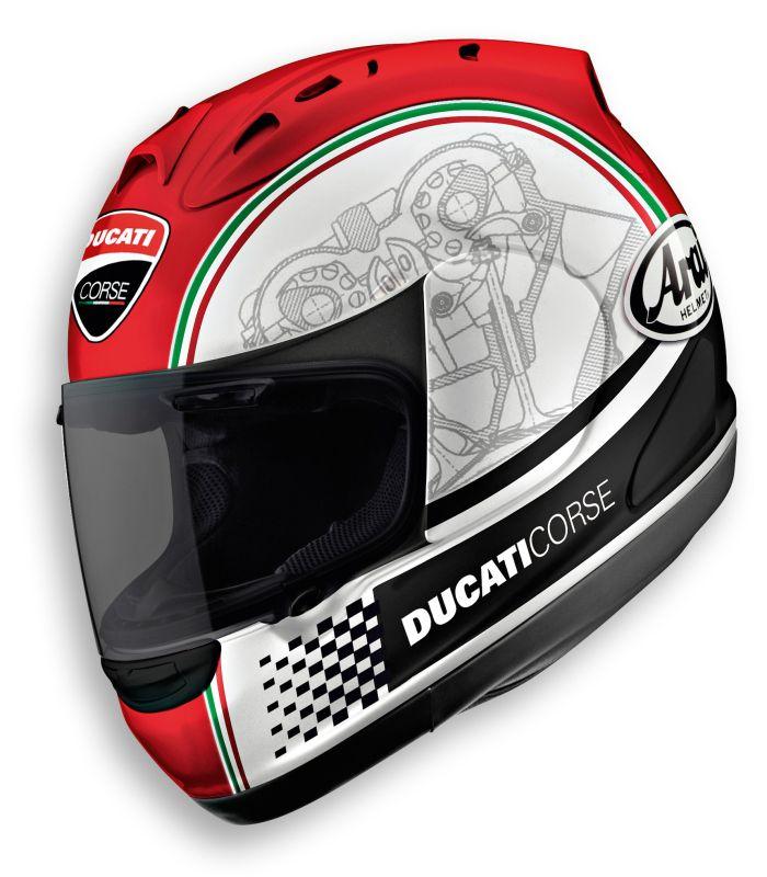Image Of Ducati Helmet Arai Cool motorcycle helmets Motorcycle 700x800