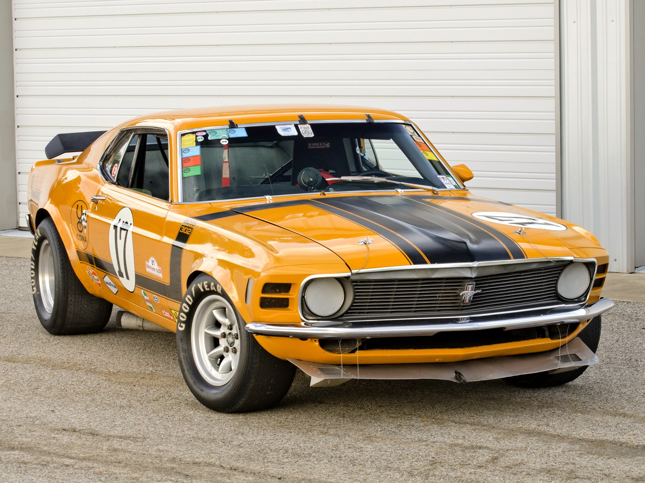 1970 mustang boss 302 trans am race racing muscle classic hot rod rods