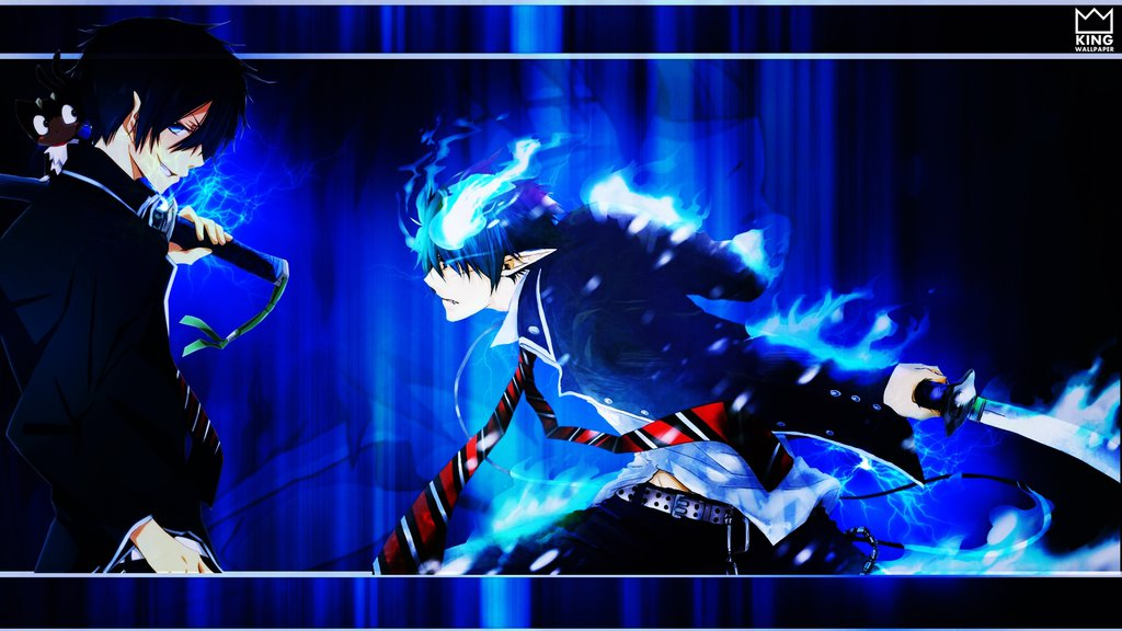 blue exorcist computer wallpapers - photo #21
