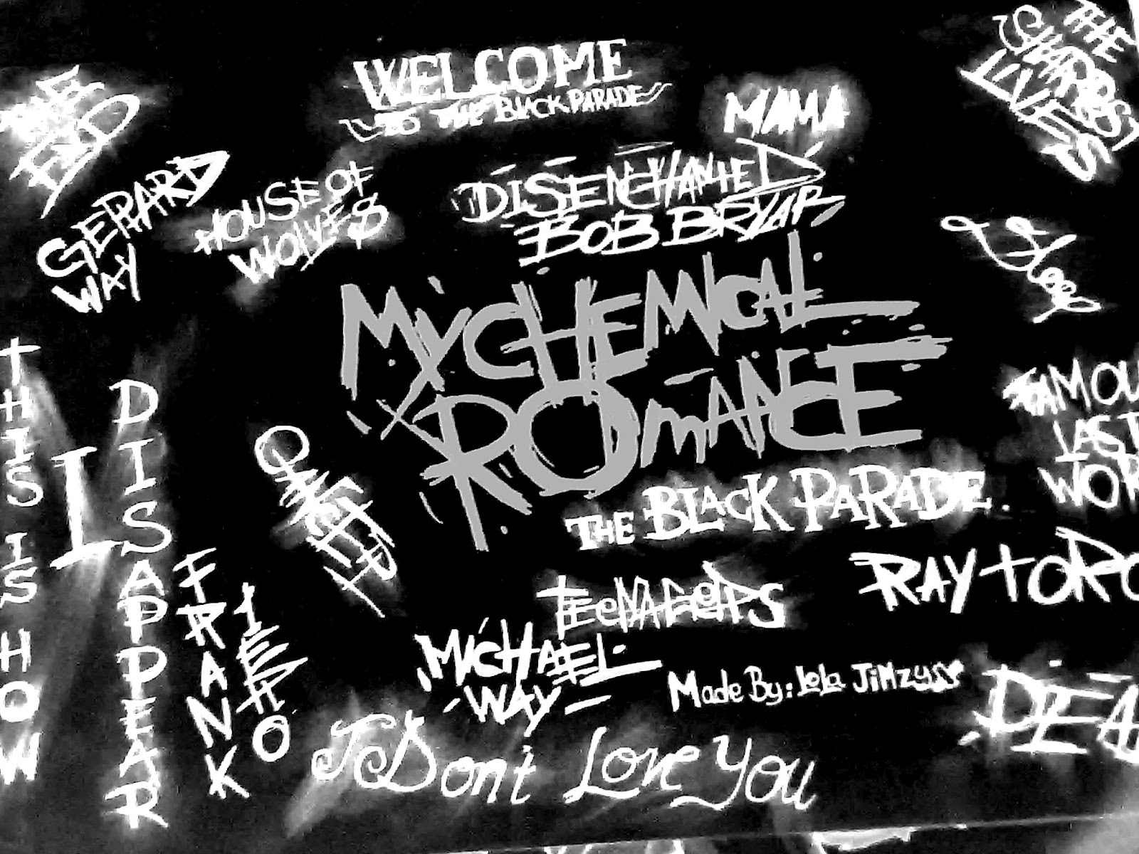 My Chemical Romance The Black Parade Wallpaper My chemical romance 1600x1200
