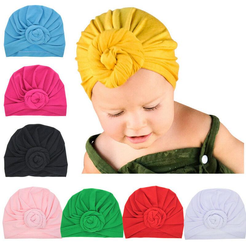 Details About Cute Newborn Kids Baby Boys Girls Turban   Donut 800x800