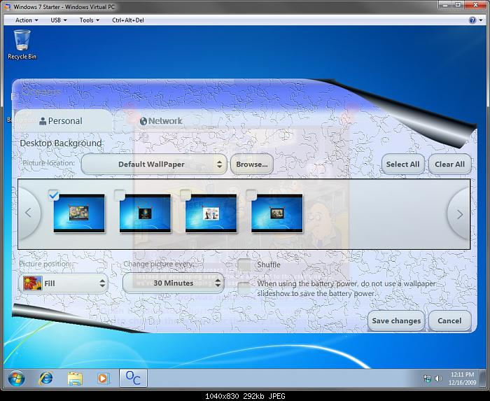 How to Change the Desktop Background Wallpaper in Windows 7 Starter 700x573