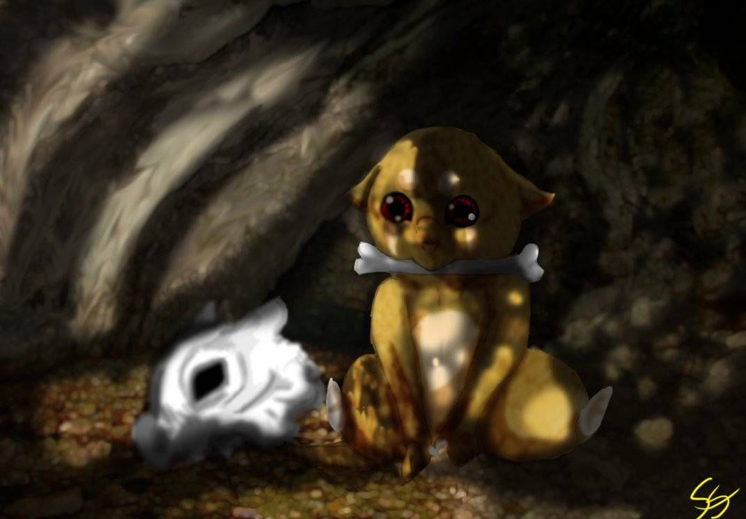 Cubone Unmasked   Pokemon Wallpaper 1071x745
