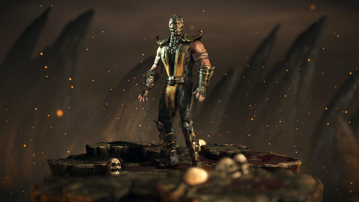 Tournament Scorpion   Mortal Kombat XL by Yurtigo 1191x670